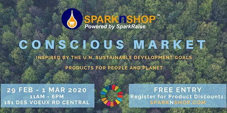 SparknShop Conscious Market POP-UP tickets