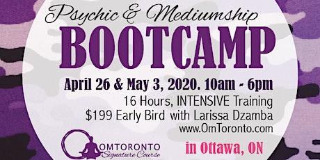 Psychic & Mediumship Bootcamp: Ottawa tickets