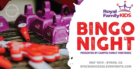 Royal Family Kids Camp - BINGO NIGHT tickets