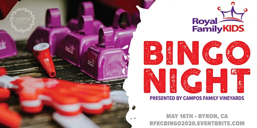 Royal Family Kids Camp - BINGO NIGHT