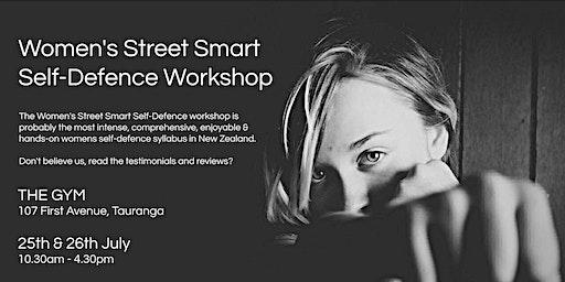 Women's Street Smart Self-Defence Workshop - The Gym, Tauranga July 2020