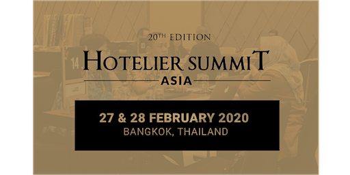 20th Edition Hotelier Summit Asia 2020