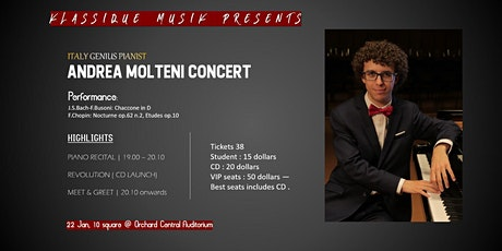 Andrea Molteni Concert | REVOLUTION tickets