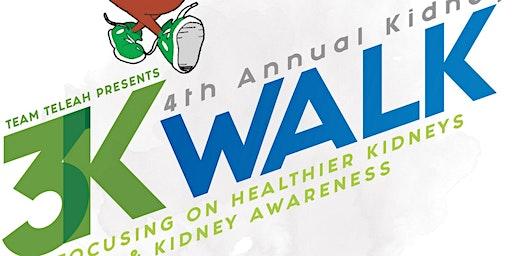 TTKM 4th Annual Kidney Walk