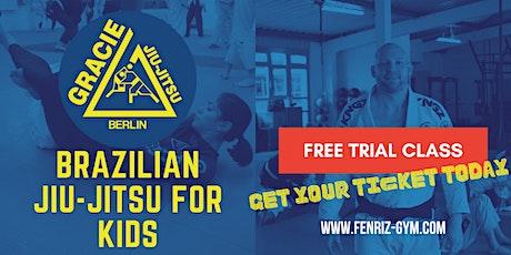 Brazilian Jiu-Jitsu for Kids (Age 4-8) - Free Trial Class Tickets