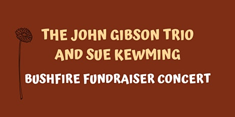 The John Gibson Trio and Sue Kewming tickets