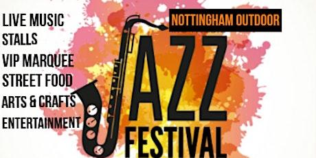 Nottingham Outdoor Jazz Festival tickets