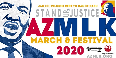 Arizona MLK MARCH & FESTIVAL 2020 tickets