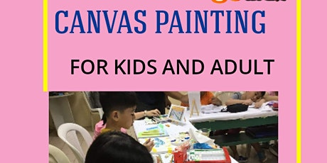 8 or 4 Sessions of Acrylic Painting Lessons tickets