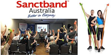 Sanctband Elastic Resistance Workshop by Dr. Dagmar Pavlu - Sydney tickets