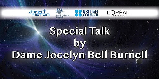 Special Talk by Dame Jocelyn Bell Burnell