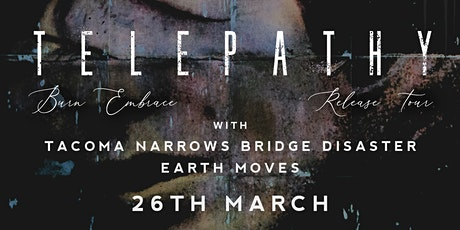 Telepathy Album Launch at the Black Heart w/ TNBD + Earth Moves tickets