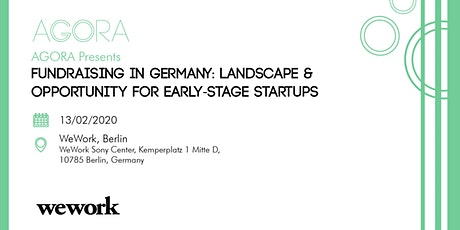Fundraising in Germany: Landscape & Opportunity for Early-Stage Startups tickets