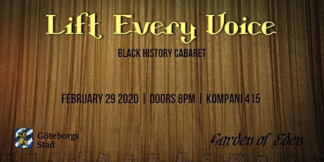 Lift Every Voice Black History Cabaret tickets