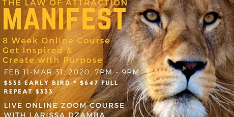 MANIFEST: The Law of Attraction Course *Online* tickets