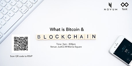 What is Bitcoin & The Blockchain tickets