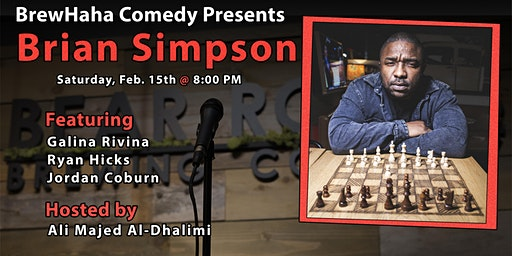 BrewHaha Comedy Presents Brian Simpson