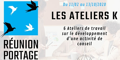 Ateliers K : Ateliers et Webinar pour Freelance chez Réunion Portage #1 billets