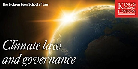 The Anthropocene: Climate Law & Governance Reading Group tickets
