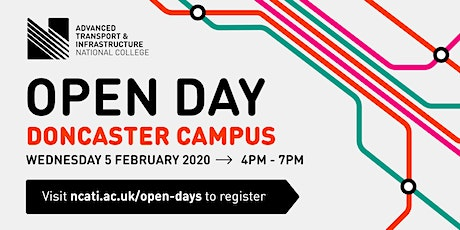 NCATI Open Day Doncaster Campus tickets