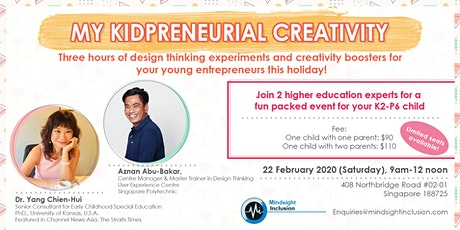 My Kidpreneurial Creativity tickets