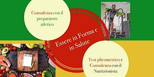 ALIMENTAZIONE E SPORT: CONFERENZA E CONSULENZE NUTRIZIONALI GRATUITE