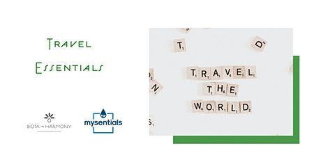 Travel Essentials - Maintain your healthy habits tickets