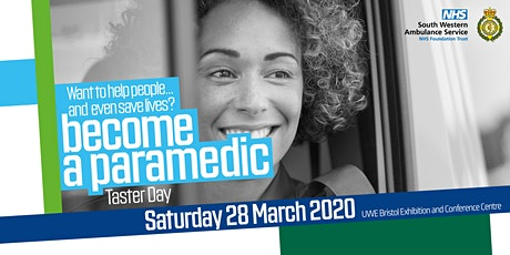 Become a Paramedic - South Western Ambulance Service Taster Day 2021 tickets