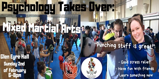Psychology Takeover: Mixed Martial Arts