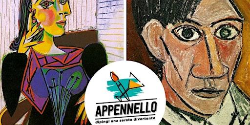 Milano: autoritratto come Picasso, un aperitivo Appennello