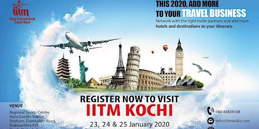 India International Travel Mart (IITM) Kochi 2020