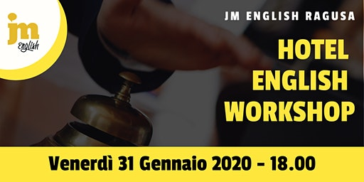 Workshop gratuito di Hotel English