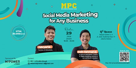 Social Media Marketing for Any Business tickets