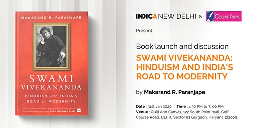 """Talk and Launch """"Swami Vivekananda: Hinduism and India's Road to Modernity"""""""