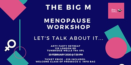 The Big M - Menopause Support Workshop tickets