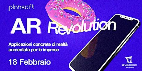 AR Revolution: Applicazioni concrete di Realtà Aumentata per le imprese biglietti