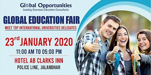 Global Education Fair Jalandhar 2020 - Free Registration
