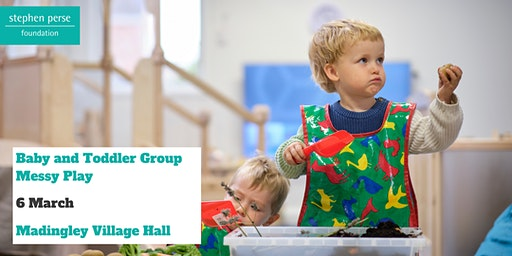 Baby and Toddler Group - Messy Play