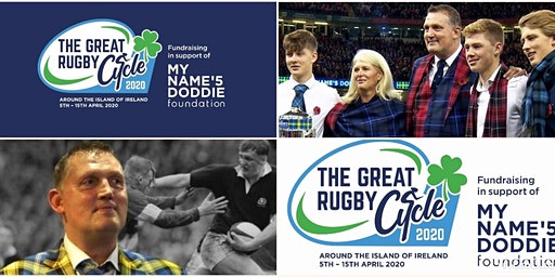 The Great Rugby Cycle 2020 - Round Ireland 5th - 15th April