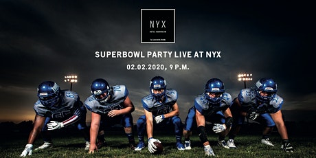 Superbowl Party LIVE at NYX Hotel Mannheim Tickets