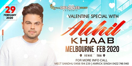 VALENTINES  WITH AKHIL (LIVE PERFORMANCE) tickets