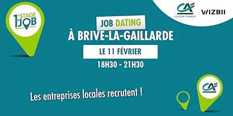 Job Dating Brive-la-Gaillarde : décrochez un emploi ! billets