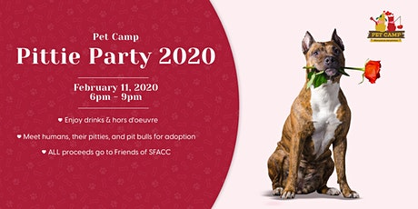 Pet Camp Pittie Party 2020 tickets