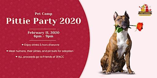 Pet Camp Pittie Party 2020