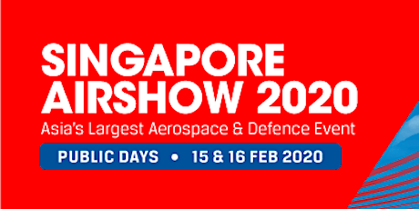 Singapore Airshow 2020 tickets