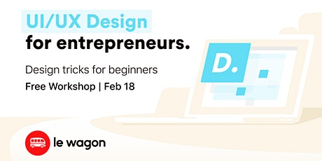 UI/UX Design for Entrepreneurs tickets