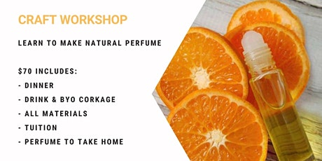 Learn to make essential oil based perfume! tickets