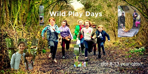 Wild Play Days (for 8-13 yrs)