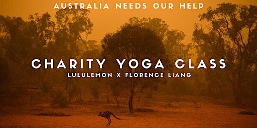 Charity Yoga Class for Australian Bushfires - Lululemon Amsterdam