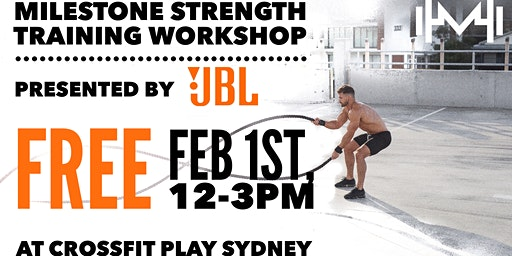 Milestone Strength X JBL Sydney Workshop